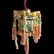 Miniature Japanese Hanging Lanterns