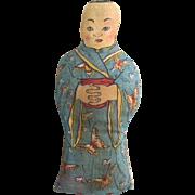Printed Cloth Chinese Man
