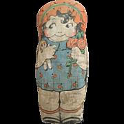 Printed Fabric Girl