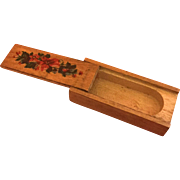 German, Miniature, Pencil Box
