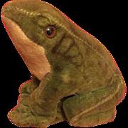 Steiff Veleteen Frog
