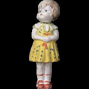 Japanese, Little Girl Nodder