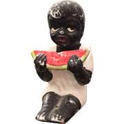 German, Miniature, Black Boy Figurine