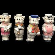 Walt Disney, Bisque, Three Little Pigs