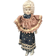 German, Miniature, Bonnet Head Doll