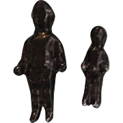 Miniature, Black Frozen Charlottes