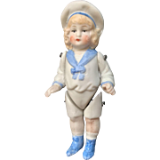 German, Molded Clothing Sailor