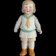 German, Molded Clothing, Googly Eyed Boy