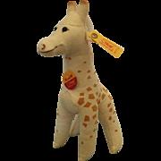Small, Steiff Giraffe Knuffi
