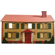 Heavy Cardboard/wood Dollhouse
