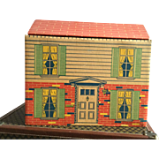Louis Marx Cardboard House