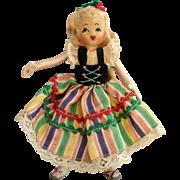 Tiny Town Folk Dancer