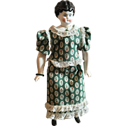 Hertwig Jeweled China Head Doll