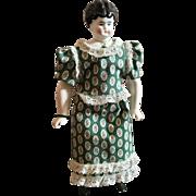Hertwig Jeweled China Head Doll