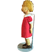 Oil Cloth Little Orphan Annie