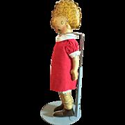 Oil Cloth Little Orphan Annie