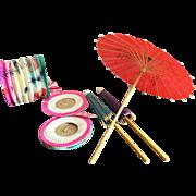Japanese Paper Umbrellas and Lanterns