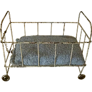 German, Wire Baby Crib