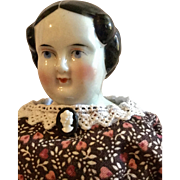 German, Flat Top China Doll