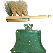 German Dust Pan and Brush