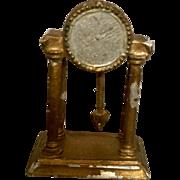 German, Soft Lead, Mantel Clock