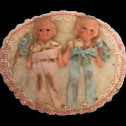 German  Twin Babies