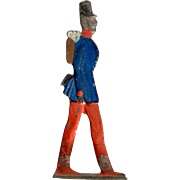 Miniature, Toy, Lead French Soldier