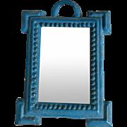 German Metal Mirror.