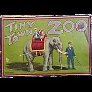 Cardboard Tiny Town Zoo