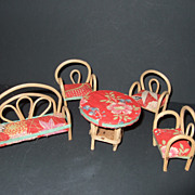 Miniature Rattan Japan Furniture