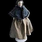 Modified Flat Top China Doll