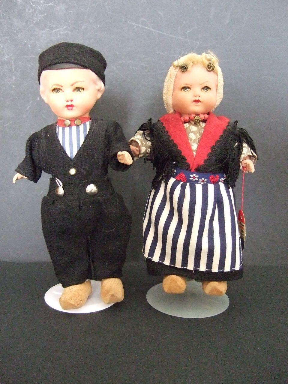 Par of Rozetta Dolls