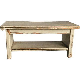Gottschalck Dollhouse Bench