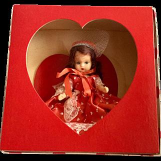Nancy Ann Hard Plastic Valentine