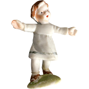 Miniature, German, Bisque Figurine