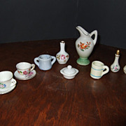 Vintage Japan Dollhouse Miniatures