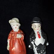 Antique German Miniature Couple