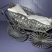 Antique German Soft Lead Miniature Buggy