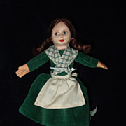 Norah Wellings Cloth Doll - Red Tag Sale Item