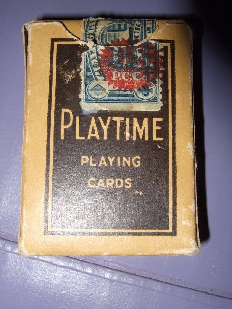 Playtime Playing Cards The US playing Card Co