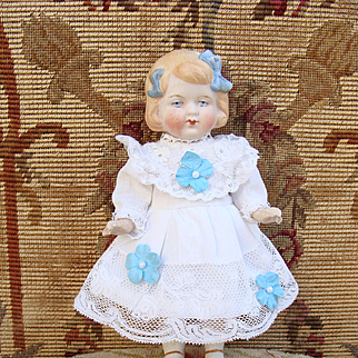 Nice antique all bisque Limbach doll.