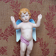 Nice antique french bisque angel circa 1900