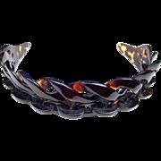 Victorian Tortoiseshell Tiara Carved Openwork Diadem