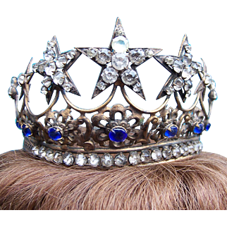Vintage Santos crown for Virgin Mary or saint statue