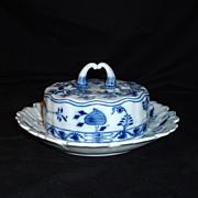 Meissen Blue Onion C. Teichert Stove & Porcelain Factory, C 1900