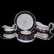 Gorgeous William Duesbury Derby Gilded Porcelain Collection, C 1800