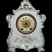 Gorgeous KPM Porcelain Footed Clock Case, C. 1895