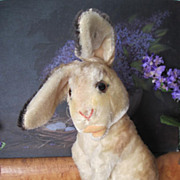 Vintage 1950s - 1961 Large Steiff Mohair Manni Rabbit