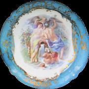Gorgeous Antique Royal Bayreuth Powder Box Mythological