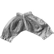 SUMMER SALE : Antique Bloomers for French Fashion Doll
